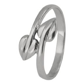 Mackintosh Leaves Silver Ring 0120